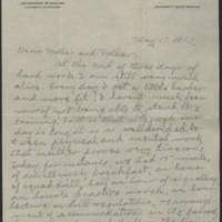1917-05-17 Conger Reynolds to Mr. & Mrs. John Reynolds Page 1