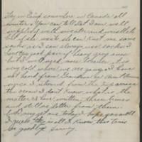 1917-11-09 Harvey Wertz to Miss Eloise Wertz Page 2