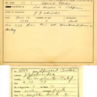 Thomas Wilmer Dewing, egg card # 733u
