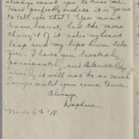 1918-11-06 Daphne Reynolds to Conger Reynolds Page 9