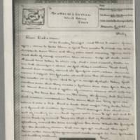 1945-03-05 John W. Graham to Mr. & Mrs. William J. Graham Page 1