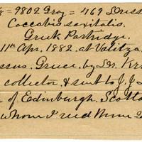 Clinton Mellen Jones, egg card # 085