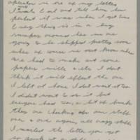 1943-01-13 Lloyd Davis to Laura Davis Page 1