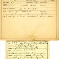 Thomas Wilmer Dewing, egg card # 773u
