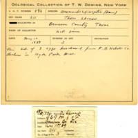 Thomas Wilmer Dewing, egg card # 470