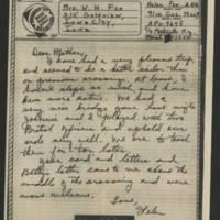 1944-03-16 Helen Fox to Bess Peebles Fox