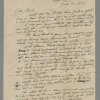 1943-06-27 Jack to Lloyd Davis Page 1