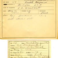 Thomas Wilmer Dewing, egg card # 091