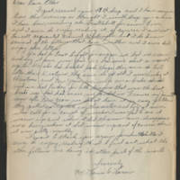 1945-02-28 S/Sgt. Louis W. Larsen to Dave Elder Page 1