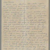 Letters to Laura Davis, 1944