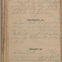 1864-11-23 -- 1864-11-25