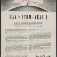 Man vs Atom - Year 1 Page 1