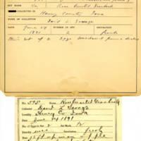Thomas Wilmer Dewing, egg card # 739u