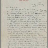 1945-08-14 David P. Livingston to Dave Elder Page 1