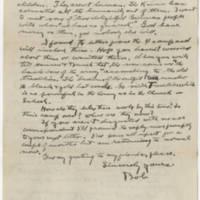 1918-05-16 Robert M. Browning To Dr. Mabel C. Williams Page 4