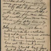 1917-11-04 Harvey Wertz to Miss Eloise Wertz Postcard