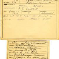 Thomas Wilmer Dewing, egg card # 080
