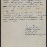 1945-08-21 Sgt. J.W. Weston to Dave Elder Page 2