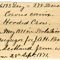 Clinton Mellen Jones, egg card # 189