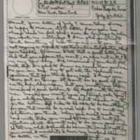 1943-07-26 Laura Davis to Lloyd Davis Page 1