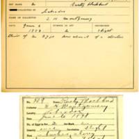 Thomas Wilmer Dewing, egg card # 414
