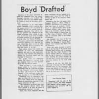 "1971-08-06 Daily Iowan Article: """"Boyd 'Drafted'"""""