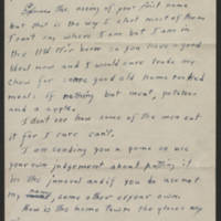 1945-03-11 Cpl. Hal D. Longer to Dave Elder Page 1