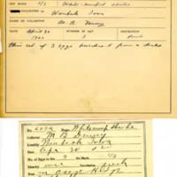 Thomas Wilmer Dewing, egg card # 764u