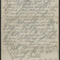 1917-09-13 Harvey Wertz to Mrs. L.A. Wertz Page 3