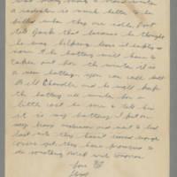 1942-10-27 Lloyd Davis to Laura Davis Page 2