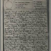 1943-06-15 Laura Davis to Lloyd Davis Page 1