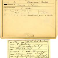 Thomas Wilmer Dewing, egg card # 485