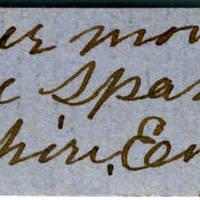 Clinton Mellen Jones, egg card # 458