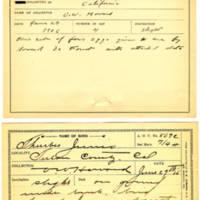 Thomas Wilmer Dewing, egg card # 452