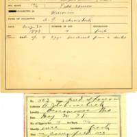 Thomas Wilmer Dewing, egg card # 725u
