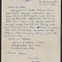 1945-06-19 William P. Harvey to Dave Elder