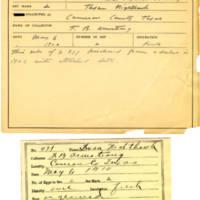 Thomas Wilmer Dewing, egg card # 322