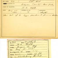 Thomas Wilmer Dewing, egg card # 798u