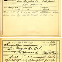 Thomas Wilmer Dewing, egg card # 169