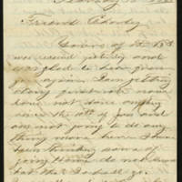 Charles R. Clark letters, 1866-1875