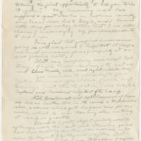 1919-04-06 Bob Browning to Karl Hoffman Page 1
