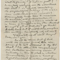Robert Morriss Browning correspondence to Mabel C. Williams, January-July 1919