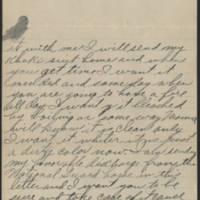 1917-09-03 Harvey Wertz to Miss Dorothy Wertz Page 2