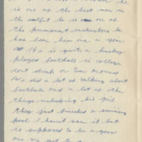 1942-09-09 Lloyd Davis to Laura Davis Page 2