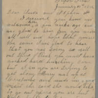 Jolley family letters, 1866 and 1882-1886
