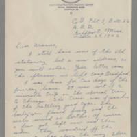 1942-10-28 Maurice Hutchison to Laura Frances Davis Page 1