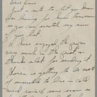 1945-12-05 T/Sgt. Robert Dunbar to Dave Elder Page 1