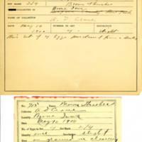 Thomas Wilmer Dewing, egg card # 803u