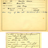 Thomas Wilmer Dewing, egg card # 435