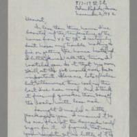 1942-11-02 Laura Davis to Lloyd Davis Page 1